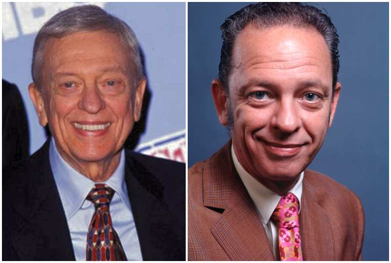 Don Knotts' eyes and hair
