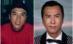 Donnie Yen's eyes and hair color