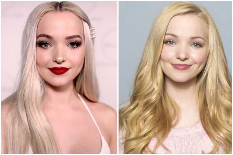 Dove Cameron's eyes and hair color