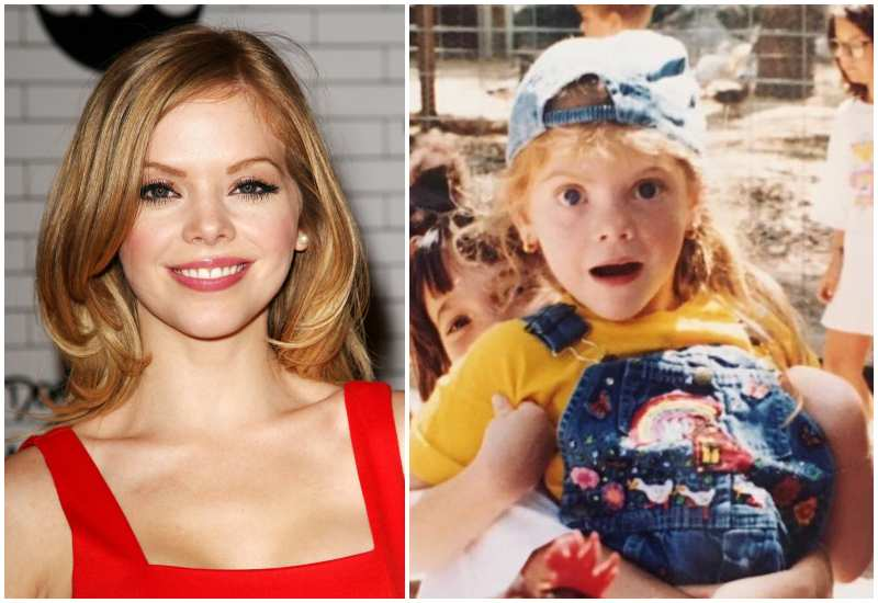 Dreama Walker's eyes and hair color