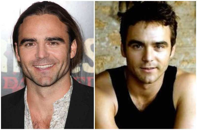Dustin Clare's eyes and hair color