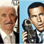 Don Adams' height and weight. Man with shoe-phone