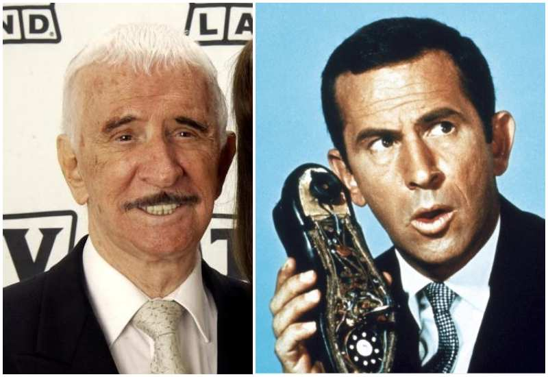 Don Adams' eyes and hair color