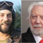 Donald Sutherland height and weight. He is still in good shape