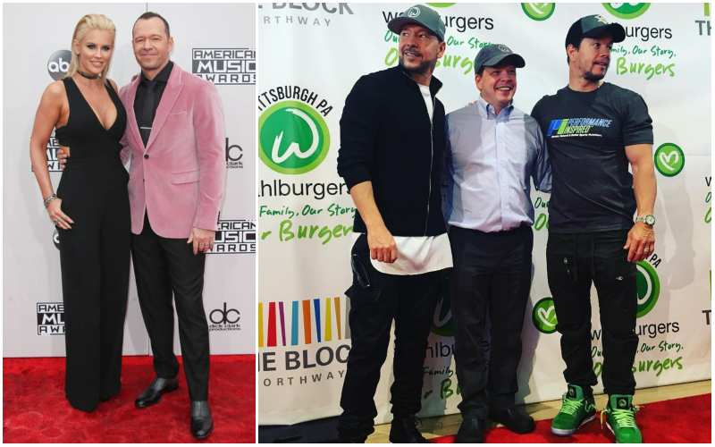 Donnie Wahlberg's height, weight and age