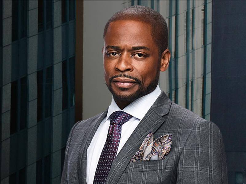 Dule Hill's eyes and hair color