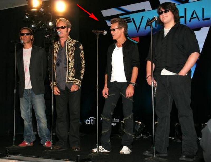 Eddie van Halen's height, weight and age