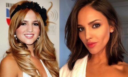 Eiza Gonzalez's eyes and hair color