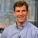 Eli Manning's height, weight. Quarterback for the New York Giants