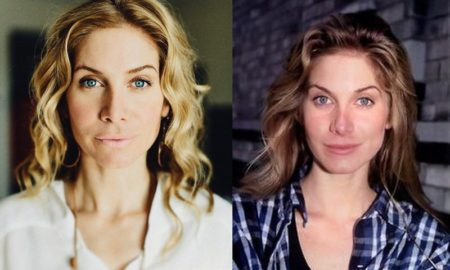 Elizabeth Mitchell's eyes and hair color