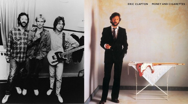 Eric Clapton's height, weight and age