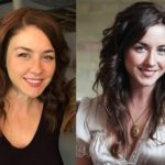 Erin Karpluk's height and weight. Canadian actress with Ukrainian roots