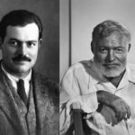 Ernest Hemingway's height and weight. One of the greatest writers