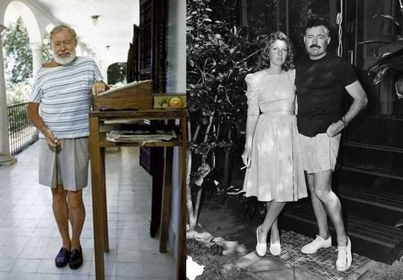 Ernest Hemingway's height, weight and age