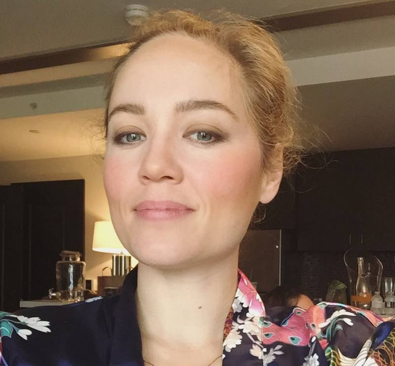 Erika Christensen's eyes and hair color