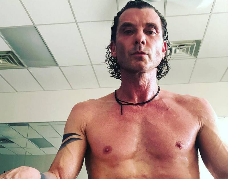 Gavin Rossdale's height, weight and age