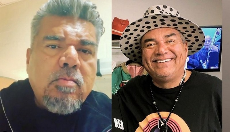 George Lopez eyes and hair color