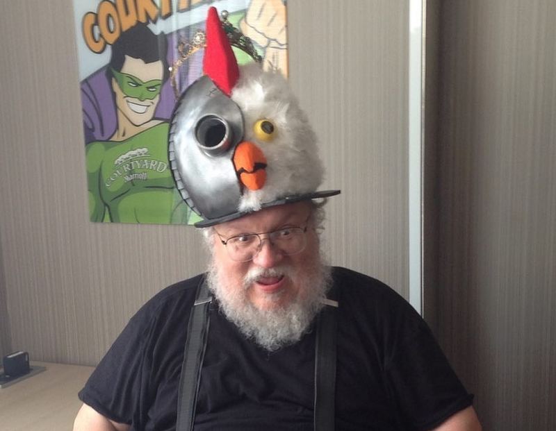 George R.R. Martin height, weight and age