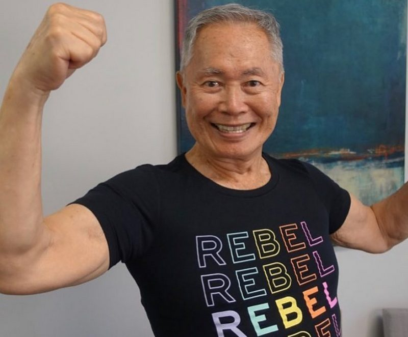 George Takei's height, weight and age