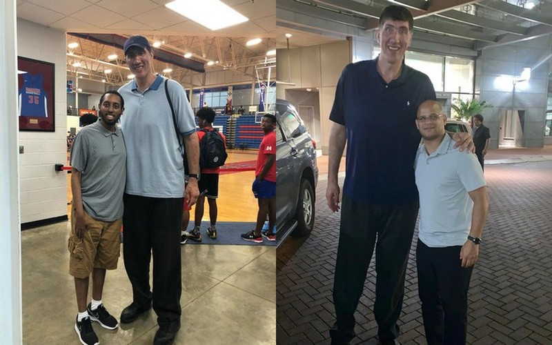 Gheorghe Muresan height, weight and age