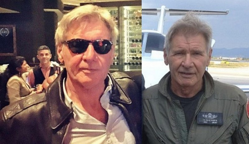 Harrison Ford height, weight and body measurements