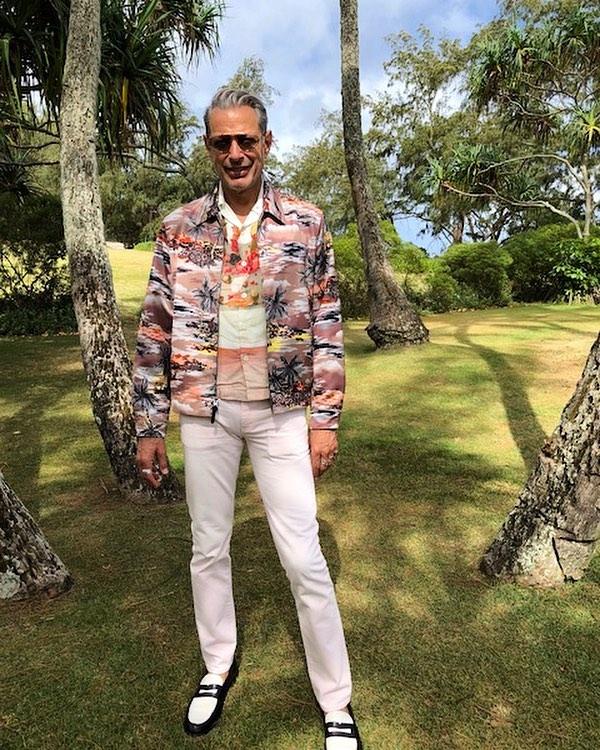 Jeff Goldblum body measurements